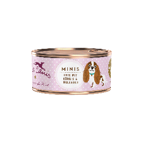 Hund / Mini-Menü getreidefrei - Ente (mit Kürbis, Erdbeere & Holunder)