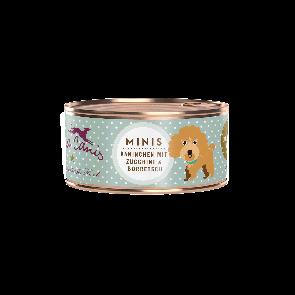 Hund / Mini-Menü getreidefrei - Kaninchen (mit Zucchini, Aprikose & Borretsch)