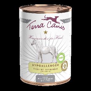 Hund / Menü Hypoallergen - Pferd mit Topinambur, Leinöl, Lachsöl, Seealge