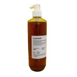 Lachsöl 500ml mit Dosierpumpe