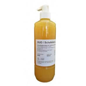 Schafsfett/Lachsöl (Duo) 500ml mit Dosierpumpe