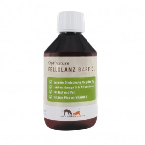 Optinature Fellglanz Barf Öl, 250ml